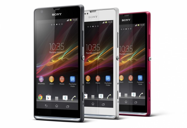 Sony Xperia SP colorazioni