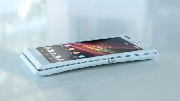 Vista di lato di Sony Xperia SP