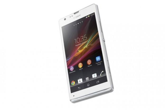 Sony Xperia SP con sfumatura bianca