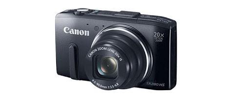 Fotocamera digitale compatta Canon PowerShot SX280 HS