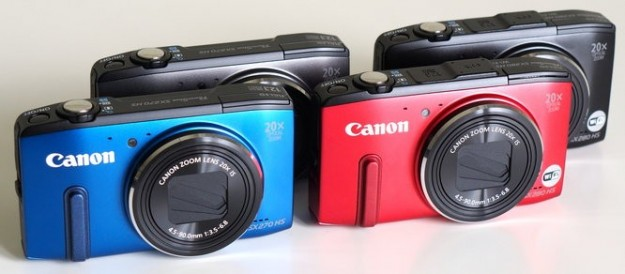 Colorazioni Canon PowerShot SX280 HS