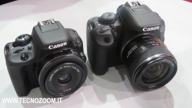 Canon EOS 100D e 700D