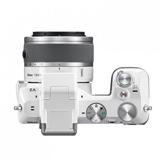 Nikon 1 V2 visto dall'alto
