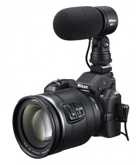 Nikon 1 V2 modalità videocamera