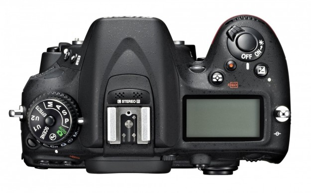 Lato superiore corpo macchina Nikon D7100