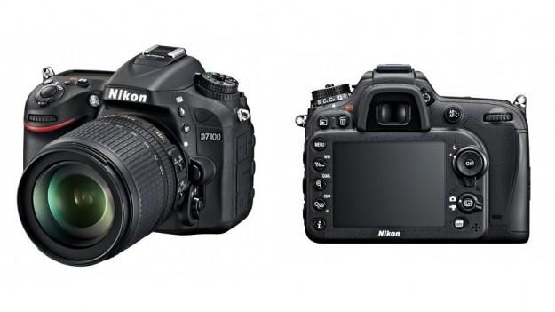Fronte e retro di Nikon D7100
