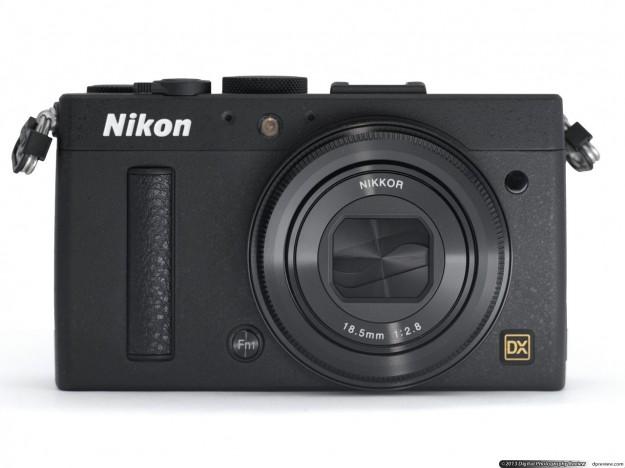 Nikon Coolpix A di colore nero