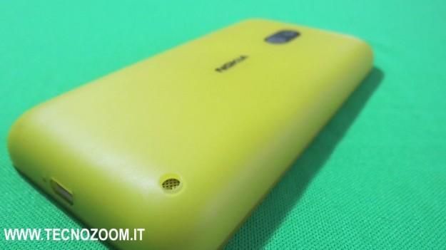 Scocca gialla back cover Nokia Lumia 620