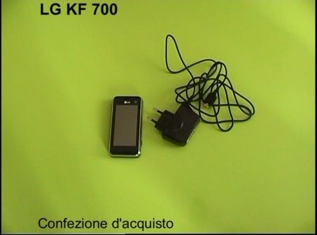 Lg KF700 confezione d'acquisto