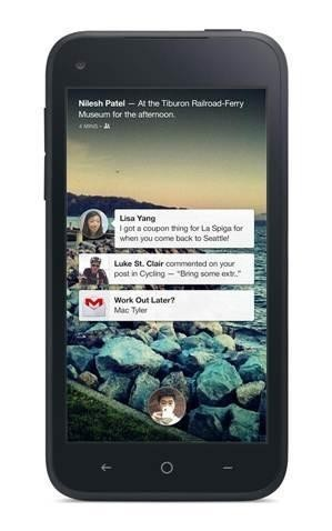 Facebook Home Chat