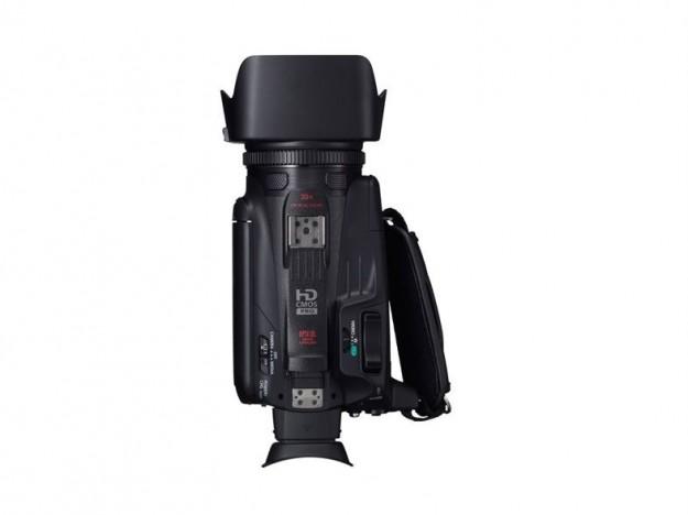 Visuale dall'alto di Canon Legria HF G30