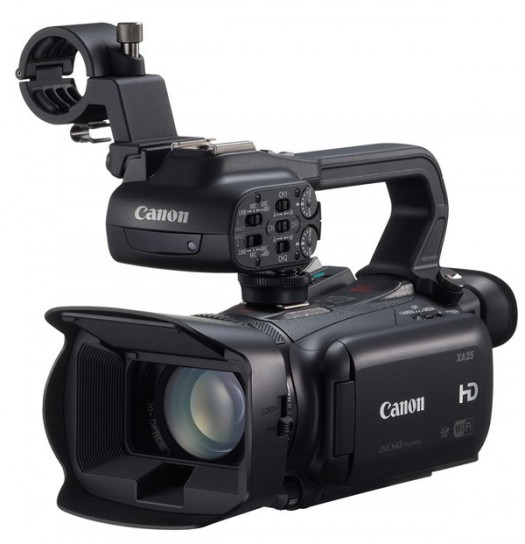 Canon Legria HF G30 con microfono