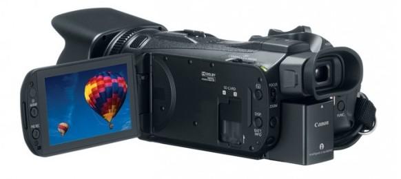 Canon Legria HF G30 lato schermo