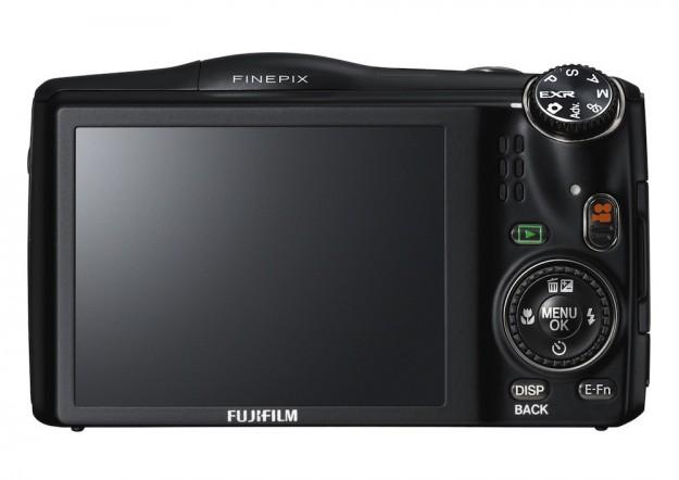 Fujifilm F850 vista dal retro