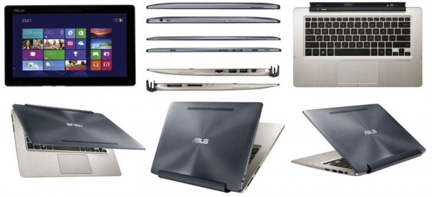 ASUS Transformer Book TX300: notebook diventa tablet XXL [FOTO]