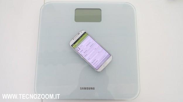 Bilancia e Samsung Galaxy S4