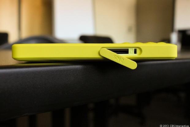 Nokia Asha 210 sim slot