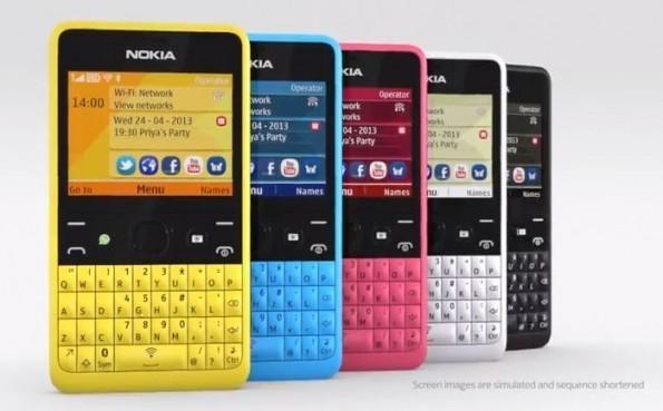 Nokia Asha 210 colorazioni