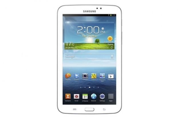 Lo schermo touchscreen di Samsung Galaxy Tab 3 7.0