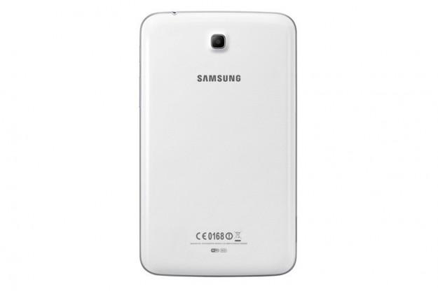 Visuale posteriore di Samsung Galaxy Tab 3 7