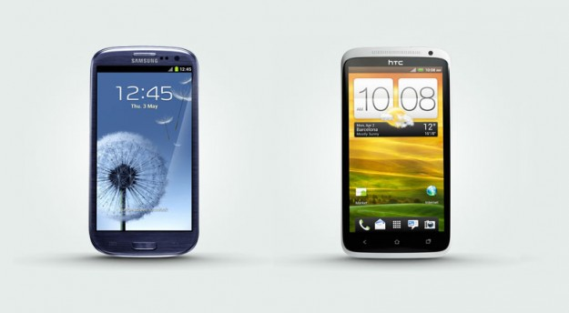 Samsung Galaxy S4 vs HTC One confronto estetico