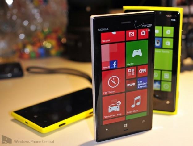 Nokia Lumia 925 colorazioni