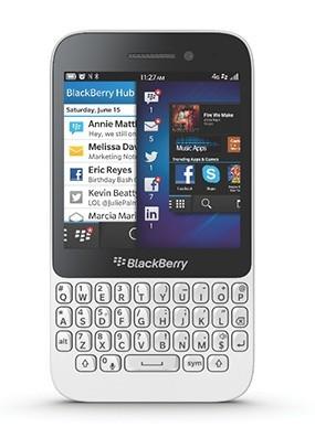 Parte frontale di Blackberry Q5