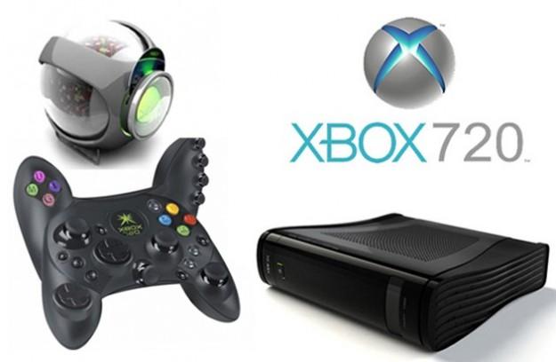 Xbox 720 controller e logo