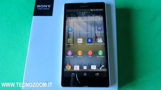 Sony Xperia Z recensione