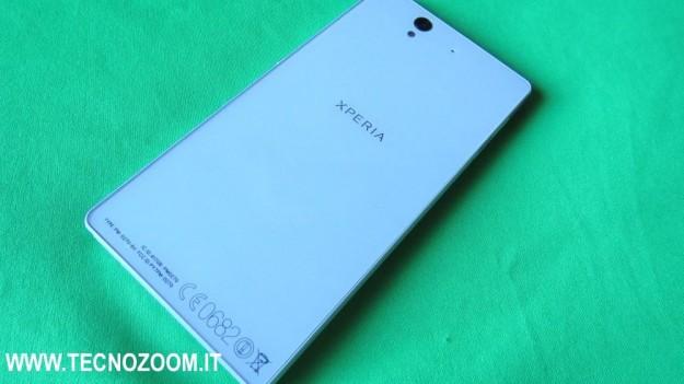 Sony Xperia Z parte posteriore