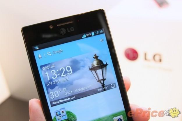 Schermo touchscreen da 4.7 pollici per LG Optimus GJ