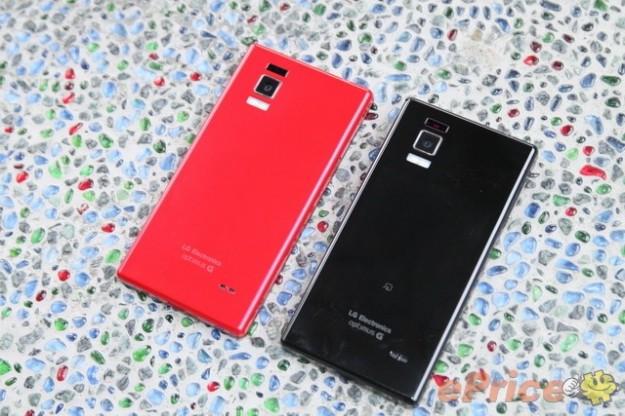 Le diverse colorazioni di LG Optimus GJ