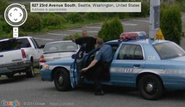 Arresto su Google Maps