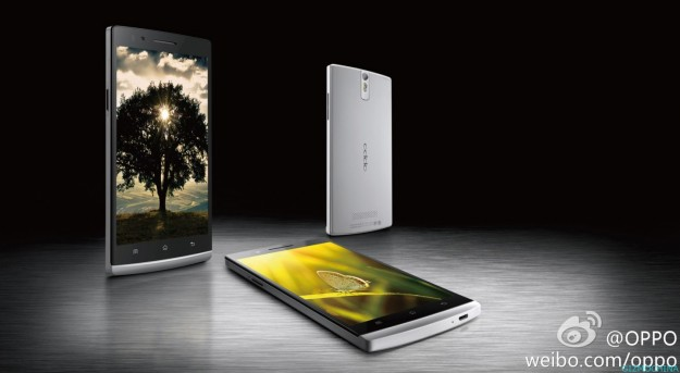 Oppo Find 5 silver