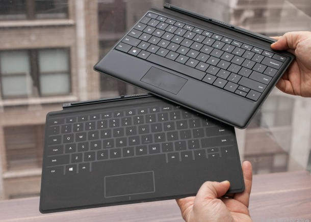 Le due tastiere di Microsoft Surface Pro