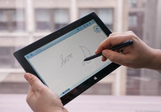 La penna capacitiva di Microsoft Surface Pro