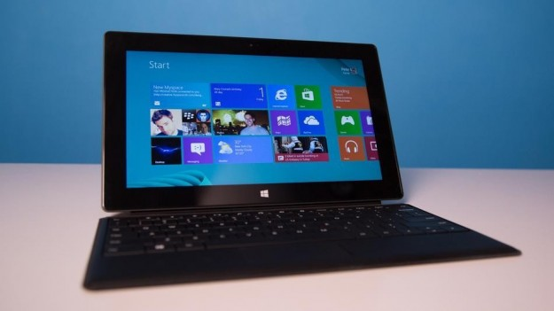 Microsoft Surface Pro visuale frontale