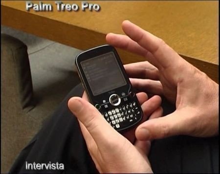 Video Palm Treo Pro, lo smartphone per il business