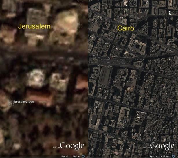 Il Cairo e Gerusalemme