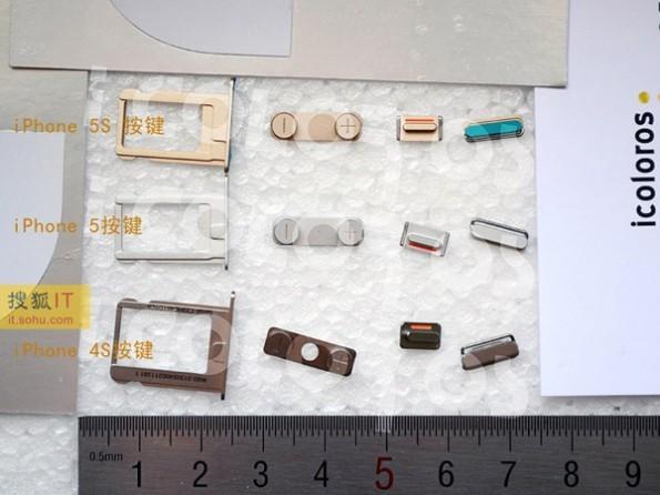 Componenti interni di iPhone 5S