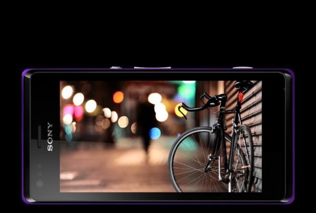 Sony Xperia M schermo touchscreen