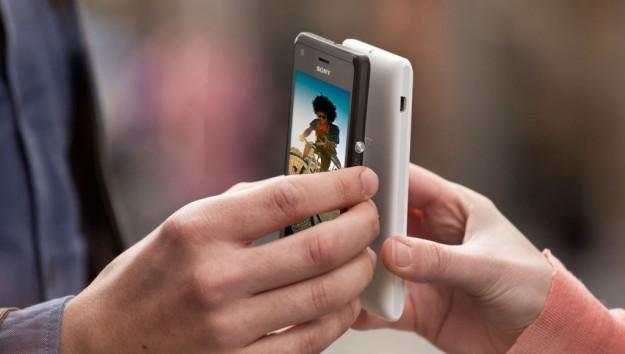 Sony Xperia M scambio dati
