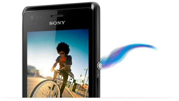 Sony Xperia M pulsante on off