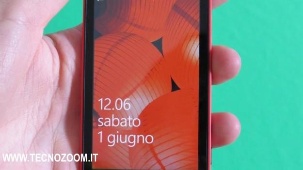 Schermata di sblocco Nokia Lumia 520