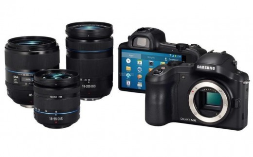 Samsung Galaxy Camera NX EK GN120