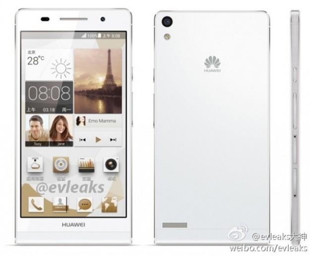 Huawei Ascend P6 bianco
