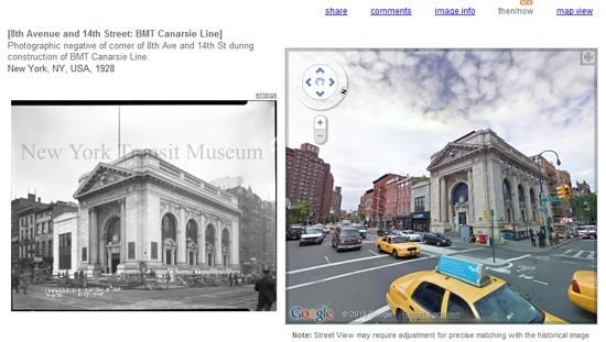Google Maps Canarsie Line prima e dopo