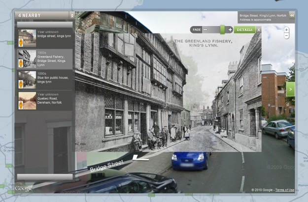 NortFolk foto storica con Google MAps
