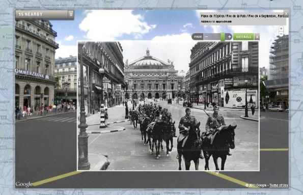 Parigi foto storica Google Maps