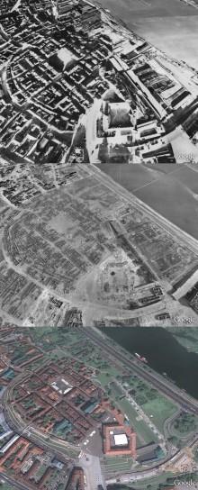 Varsavia prima e dopo la guerra
